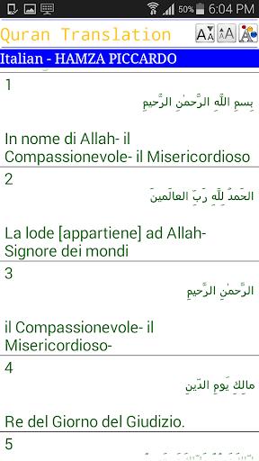 Italian Quran