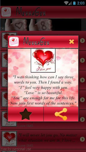 Download Sweet Love Messages 2016 Google Play softwares