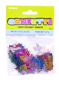 Konfetti, Happy Birthday