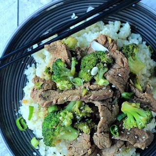 Beef With Cauliflower Stir Fry Recipes
