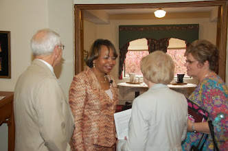 Photo: tour of the regional office