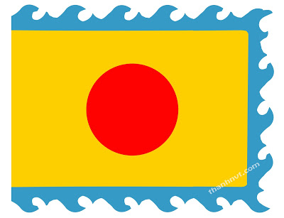 Long tinh ky flag on ky dai