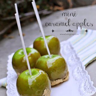 How to Make Mini Caramel Apples + #SweetSwaps Twitter Party with Prizes.