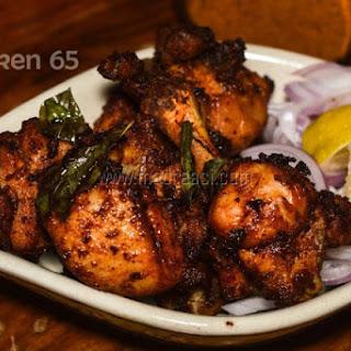 Chicken 65 / Chicken 65 with Homemade Masala.