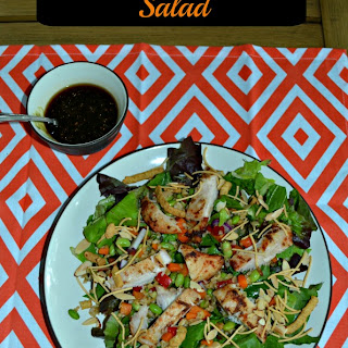 Asian Grilled Chicken Salads