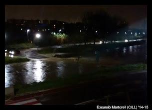Photo: El riu s'ha menjat la carretera!!