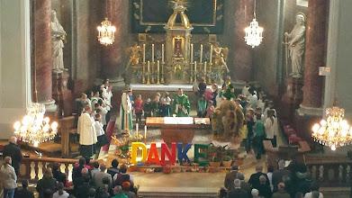Photo: Der Blick von der Orgelempore