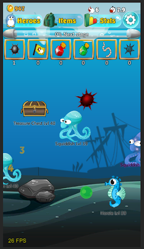 Penguin Fish Clicker Adventure