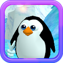 Pinguin laufen 3D HD icon