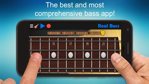 Real Bass - Playing bass made easy 6.2 gameplay | AndroidFC 1