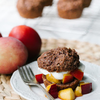 Chocolate Peach Shortcakes