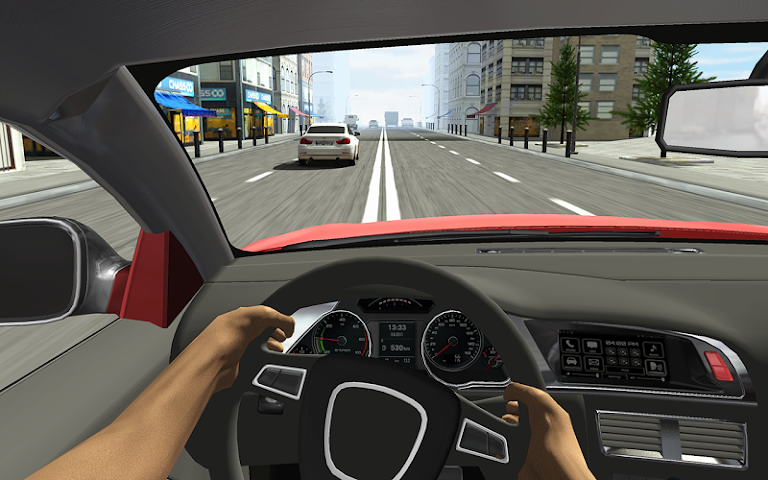 android Racing in Car Screenshot 5