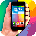 8-bit экран телефона шутка icon