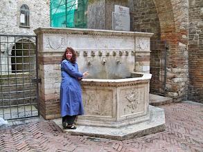 Photo: Fountain in Perugia