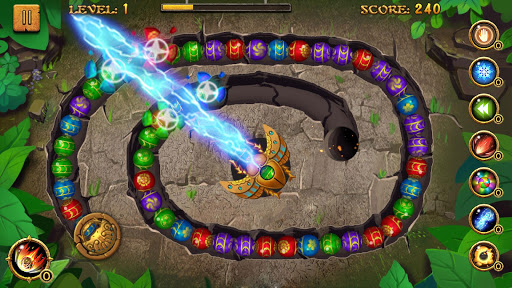 Jungle Marble Blast  screenshots 1