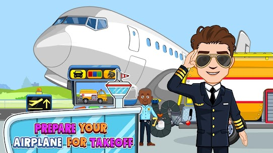 My Town : Airport MOD (Paid Content) 5