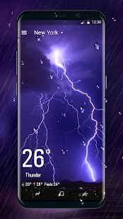 Weather Live Livewallpaper HD - náhled
