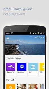 Israel: Offline travel guide - náhled