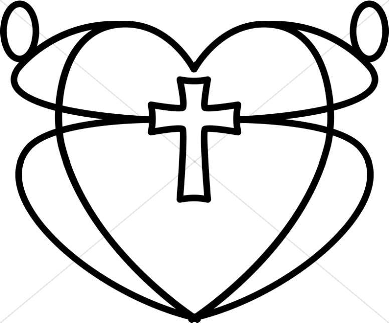 Image result for love clip art black and white