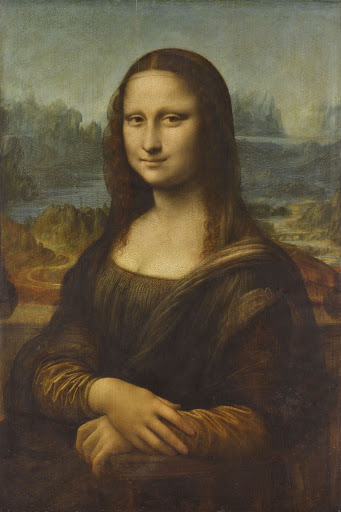 "Portrait of Lisa Gherardini, wife of Francesco del Giocondo, known as ""Monna Lisa, la Gioconda"" or ""Mona Lisa"", 1503-1519"