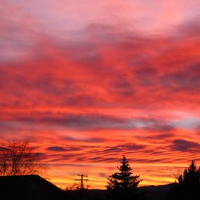 Missoula Montana Sunset by Gregg Landry - Landscapes Sunsets & Sunrises ( clouds, montana, sunset, summer, missoula,  )