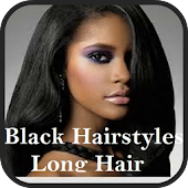 Black Hairstyle with Long Hair