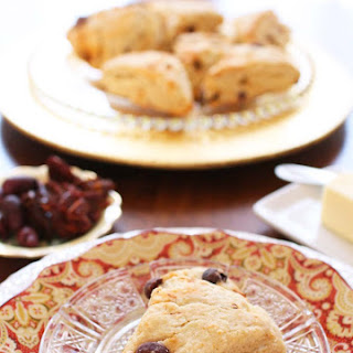 Savory Scones With Sun Dried Tomatoes, Olives And Goat Cheese.