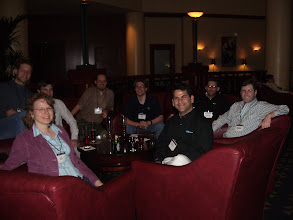 Photo: Kim Moir, Dave Steinberg, Chris Aniszczyk, Christian Damus, Nick Boldt, Kenn Hussey, Ed Merks, Marcelo Paternostro