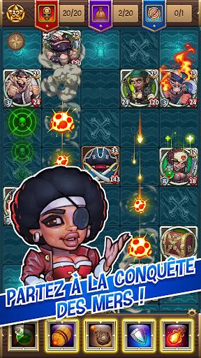 Sea devils - Le jeu d'exploration de pirates  captures d'u00e9cran 1