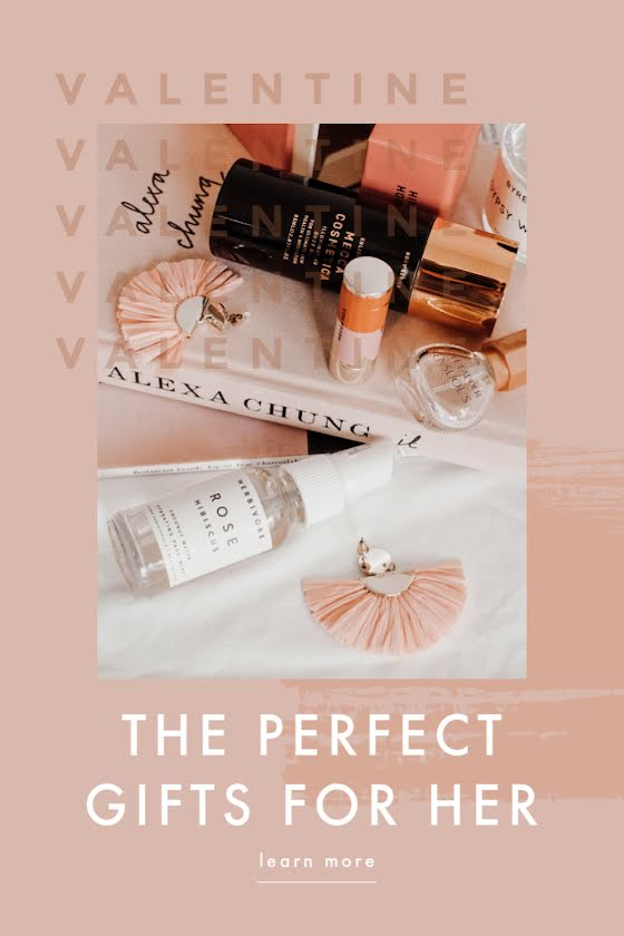 The Perfect Gifts for Her - Valentine's Day Template