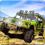 Offroad Mountain Jeep Drive Challenge Icon