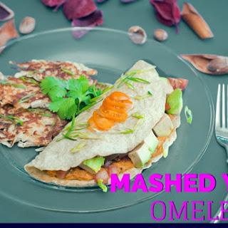 Mashed Yam Omelette
