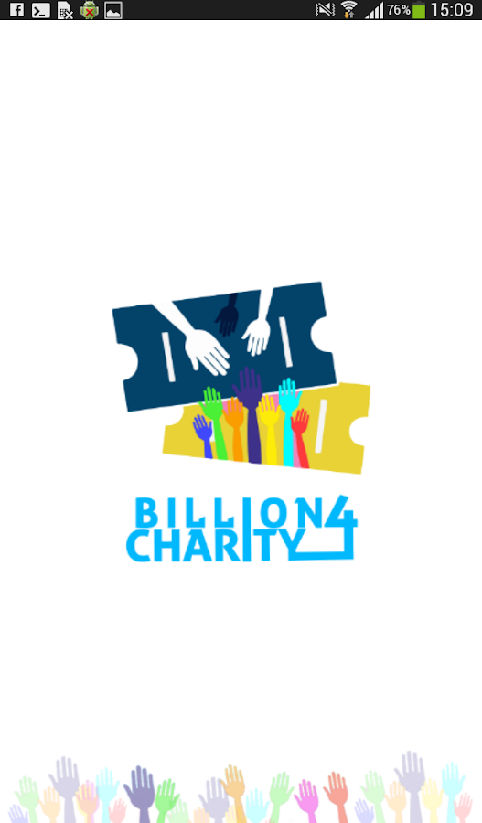 Billion4Charity- screenshot