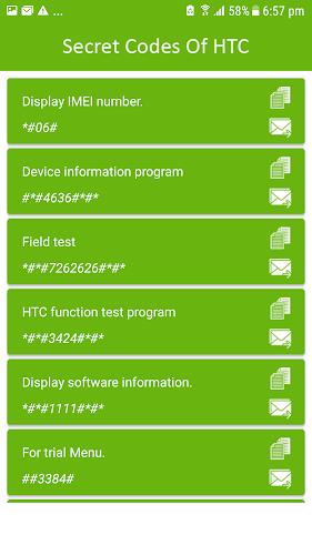 HTC Secret Codes APK | APKPure ai