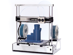 Refurbished MAKEiT PRO-L High Resolution Dual Extruder 3D Printer *A Stock*
