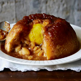 Sussex Pond Pudding With Apples.