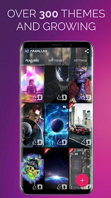 3D Parallax Background - 4D HD Live Wallpapers 4Kのおすすめ画像3