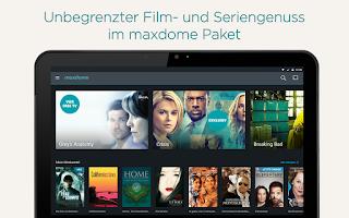 Screenshot of maxdome