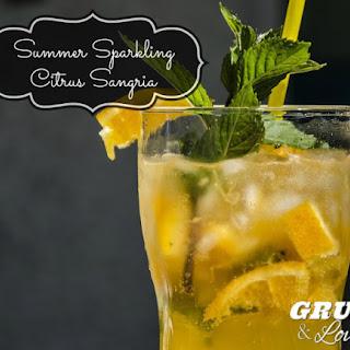 Summer Sparkling Citrus Sangria