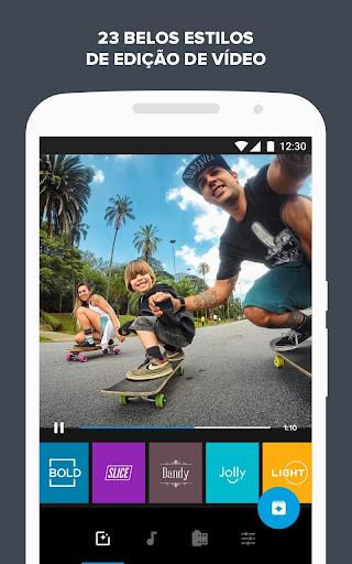 Quik - Editor de Vídeo da GoPro para fotos, clipes screenshot 4