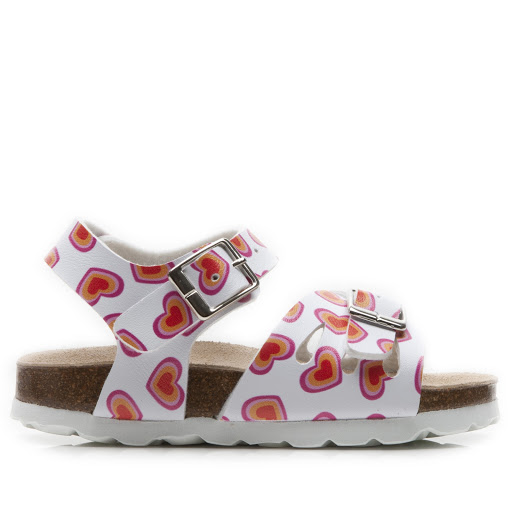 Primary image of Step2wo Love Heart White - Buckle Sandal