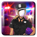 Women Police Photo Suit icon