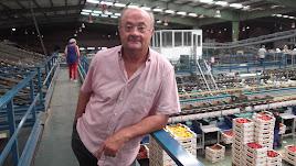 Juan antonio díaz planelles,  gerente de la Sociedad Agraria Agroiris.