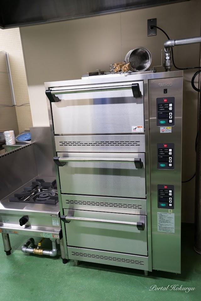 ガス式立体炊飯器