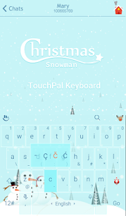 Download Christmas Snowman Xmas Theme For PC Windows and Mac apk screenshot 2