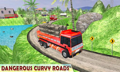 Indian Cargo Truck Driver Simulator apkpoly screenshots 3