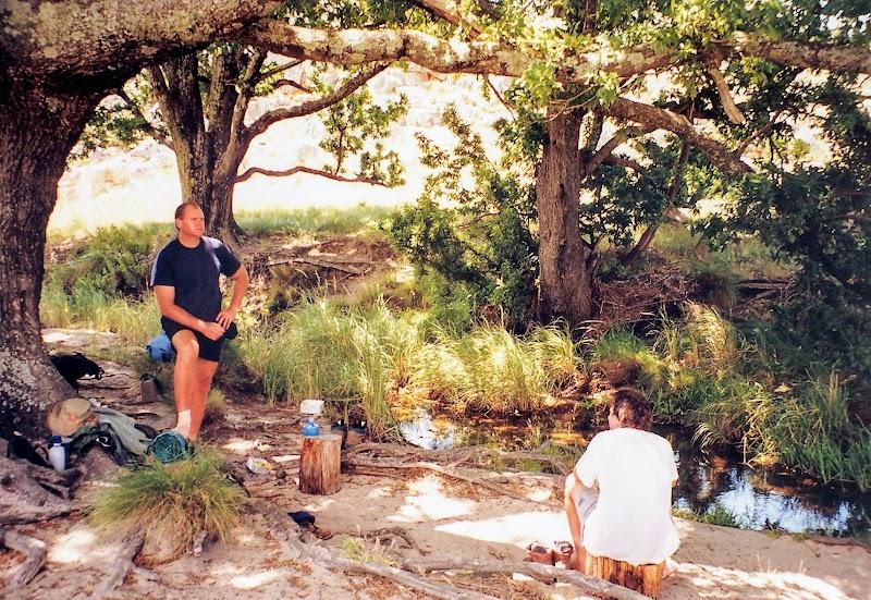Resting near Middelberg hut
