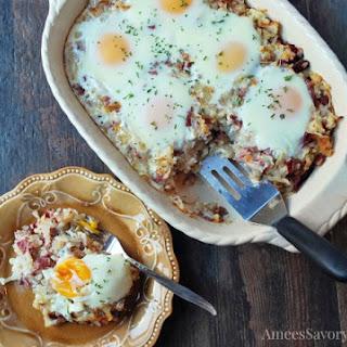 Corned Beef Hash Breakfast Casserole Recipe