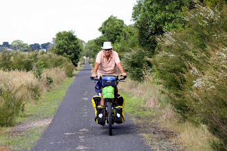 Photo: Year 2 Day 159 - On the East Gippsland Rail Trail, Just Out of Bairnsdale