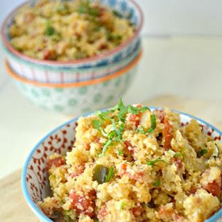 """Cauliflower Spanish """"Rice"""""""